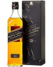 Johnnie Walker Black Label 12 years old Blended Scotch Whisky 70cl with Gift Box