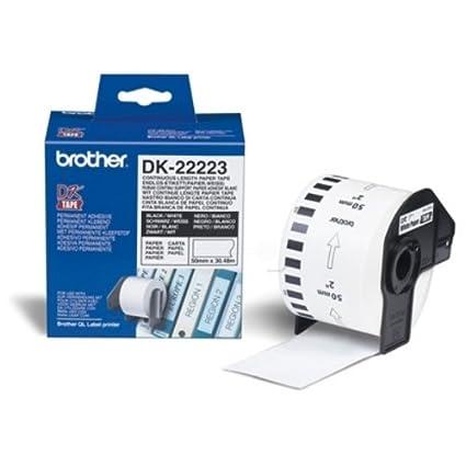 Brother DK-22223 etiqueta de impresora - Etiquetas de ...