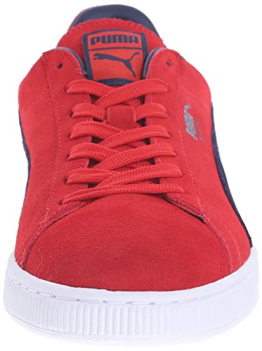 Sneaker Top High Flame Peacoat Classic Puma Scarlet Herren Suede UZRaga