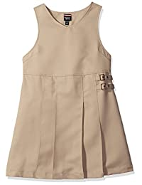 French Toast Big Girls' Double Buckle Tab Jumper