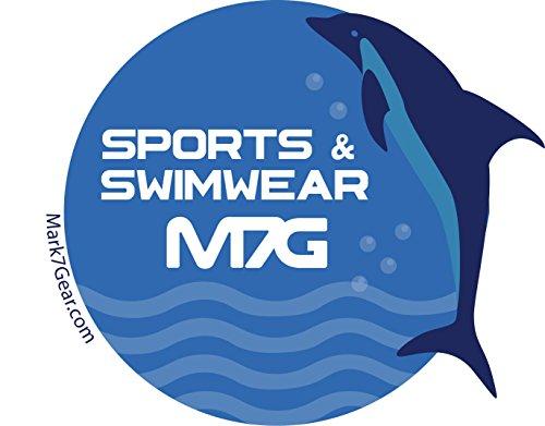 Badehose Mark7Gear GYM & SWIM - blau - Sportshorts mit JOCKSTRAP