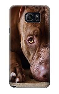 E0519 PitBull Face Funda Carcasa Case para Samsung Galaxy Note 5