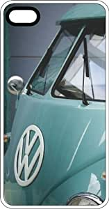 60's Style Classic VW Van White Rubber Case for Apple iPhone 4 or iPhone 4s