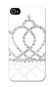 Graceyou Cute Tpu 1e6 4.70788223 Bridal Wedding Princes Tiara Crown With Blooming Crystal Crossed Case Cover Design For Iphone 6 4.7