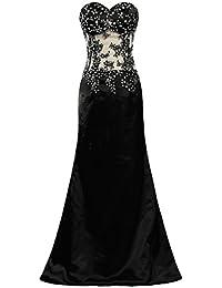 300e648ddb579 Hormigas de la mujer sin tirantes de sirena vestidos de fiesta largo Prom  albornoz