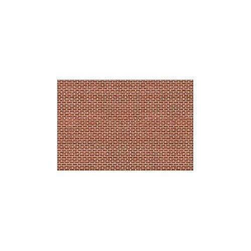Aged Factory Brick, Building Paper, Pack of 4 (HO)