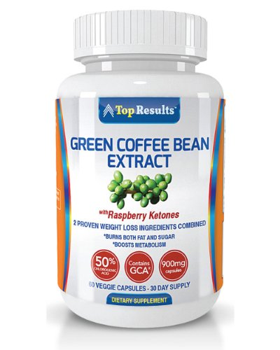 Pure Green Coffee Bean Extract 800mg Pills, GCA® (50% Chlorogenic Acid) Plus 100mg of Raspberry Ketones – Dr. Oz Recommended Natural Organic Ingredients – Ultra Quick Weight Loss Supplements – Lose Weight Fast With 60 Max Strength Fat Burner Diet Pills – GUARANTEED, Health Care Stuffs