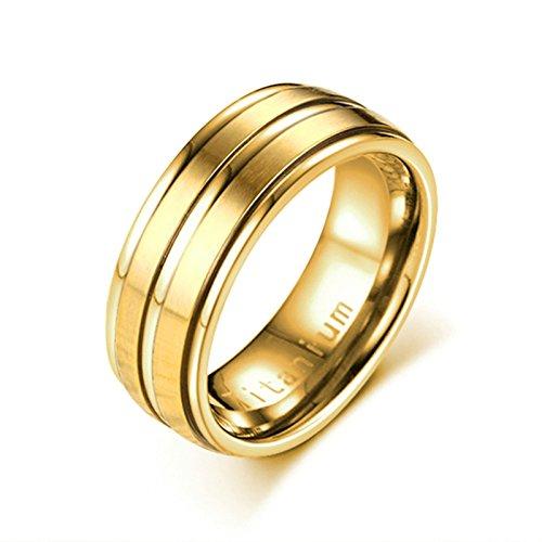 8mm Trauringe Ring Gr Tungsten Wolframkarbid 21 Retro Herren Ring