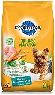 Ração Para Cachorros Pedigree Equilíbrio Natural Adultos Raças Pequenas e Minis 20kg