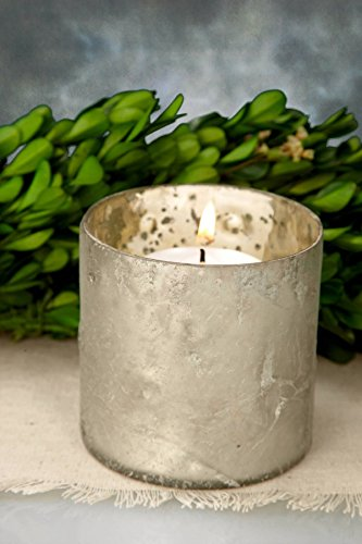 Glass Vases Essential Frosted (Dexon Power Mercury Glass Lumen Votive Holder Frosted White 3x3in)