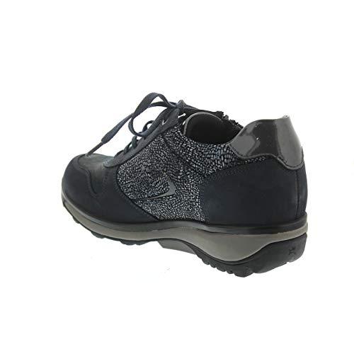 pour Ville Chaussures de XSENSIBLE Bleu Lacets à Femme aqXpafx