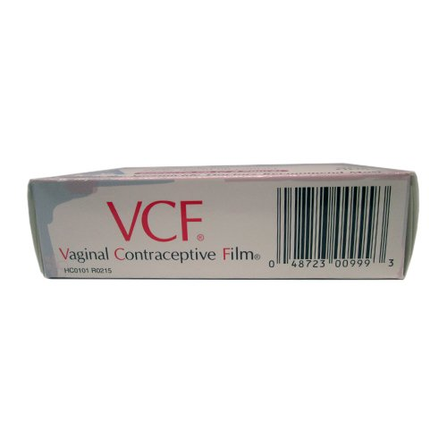 VCF Vaginal Contraceptive Films 9 Each (Pack of 11)