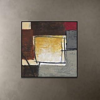 HZF-Moderno divano minimalista, sfondo dipinto, soggiorno, camera da letto, ingresso pittura murale, creative abstract pittura decorativa,B40 (Yin Kuang) murali