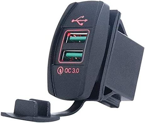 Lucy Day Tipo de Barco Cargador USB Doble for automóvil ...