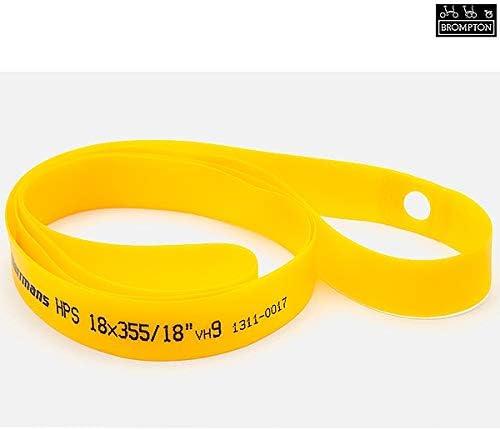 Yellow Brompton Rim Tape 18mm