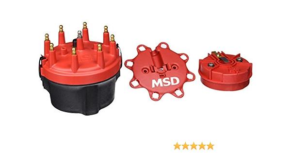 MSD 8414 Cap-A-Dapt Distributor Cap and Rotor