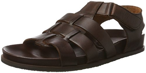 Manitu 610224 - Sandalias Hombre marrón (Braun)