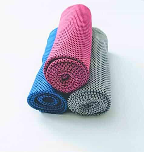 Cala Hot pink cooling towel