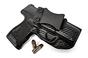Concealment Express IWB KYDEX Holster: fits Sig Sauer P365 (CF BLK, RH) - Inside Waistband Concealed Carry - Adj. Cant/Retention - US Made