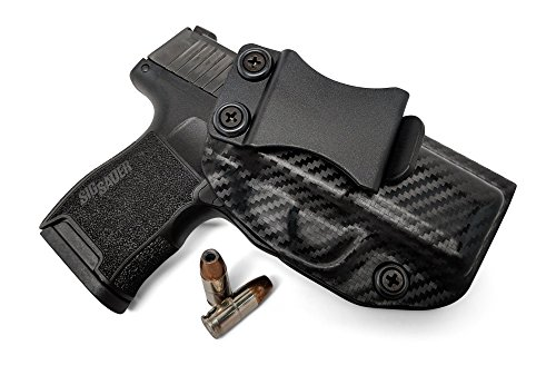 Kydex Gun Holsters - Concealment Express IWB KYDEX Gun Holster: fits Sig Sauer P365 - Custom Molded Fit - US Made - Inside Waistband Concealed Carry Holster - Adj. Cant & Retention