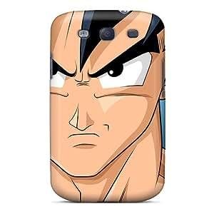 Galaxy S3 Case Cover Dragon Ball Z Goku Case - Eco-friendly Packaging