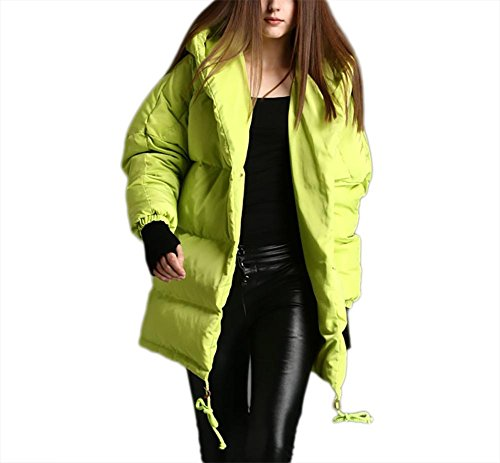 Hood Cotton Keep Jacket Down Windproof Coat Short Green Ladies Overcoat Women's Thickening Loose Outwear Winter Type wqpInxOBg