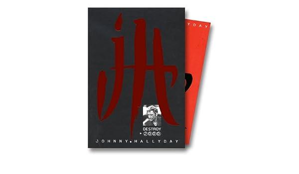 Destroy 2000 Johnny Hallyday Johnny Hallyday 9782840985204