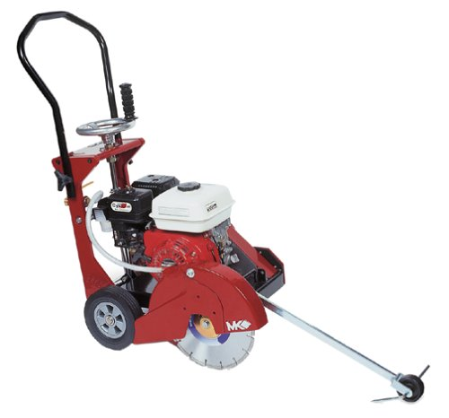 Photo MK Diamond 159345 MK-CX-3 H 6-1/2 Horsepower 14-Inch Gas Walk-Behind Concrete Saw