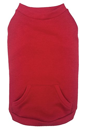 Fashion Pet 550625 Red Outdoor Dog Sweatshirt, Medium