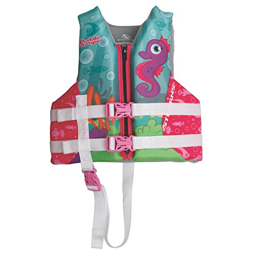 Stearns Kids Puddle Jumper Hydroprene Seahorse Print Life Jacket