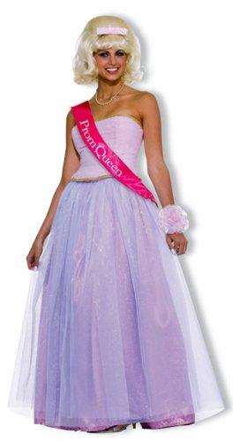 Forum Novelties Women's Flirting with The 50's Prom Queen Costume, Pink, Standard