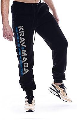 Dirty Ray Artes Marciales Krav Maga pantalón de chándal hombre con ...