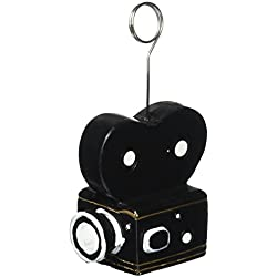 Movie Camera Photo/Balloon Holder Party Accessory (1 count)