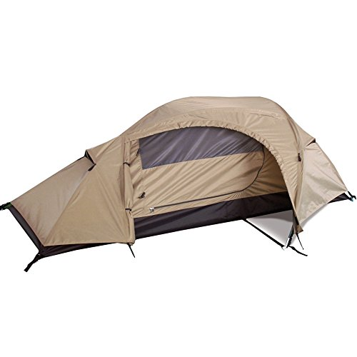 Mil-Tec Recon One Man Tent Coyote