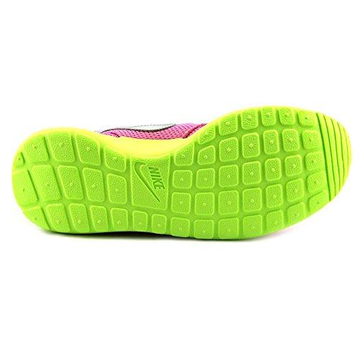 Sneakers Nike Rosherun (gs) Da Donna In Rosa / Verde (599729-501)