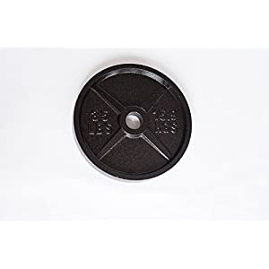 Cast Iron Olympic Weight Plates 35 lb Body Solid Cast, Iron