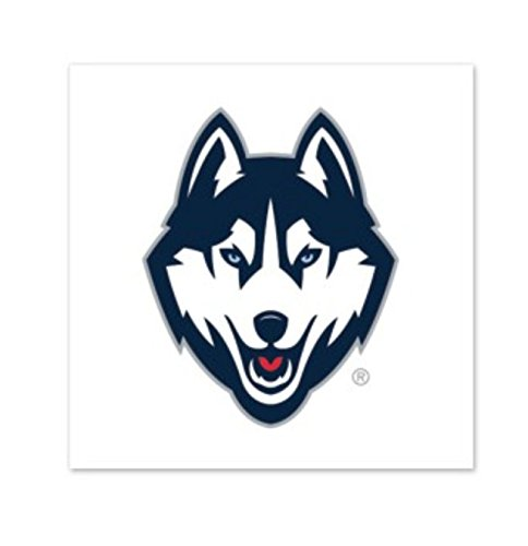 - WinCraft NCAA University of Connecticut UConn Huskies 4-pack 1 x 1 inch Temporary Tattoos