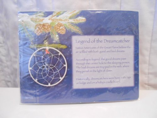none listed Christmas Dreamcatcher Ornament Christmas Dream Catcher Ornament NIP