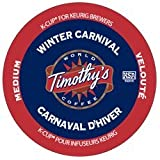 TIMOTHY'S WINTER CARNIVAL K CUP COFFEE 96 COUNT
