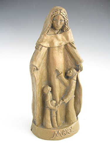 Handmade Statue of Mary: Patron of Mothers (Small Size)