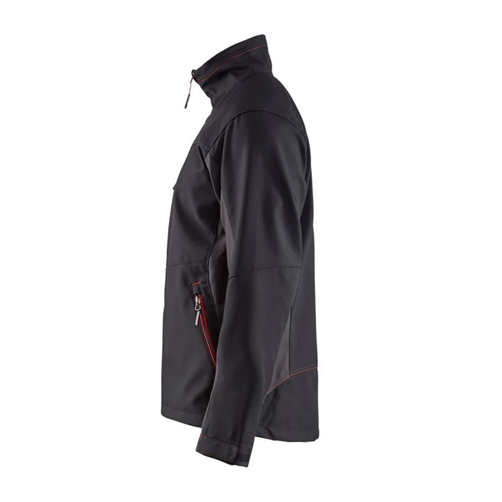Blaklader Workwear Softshell Jacket Black//Red XS