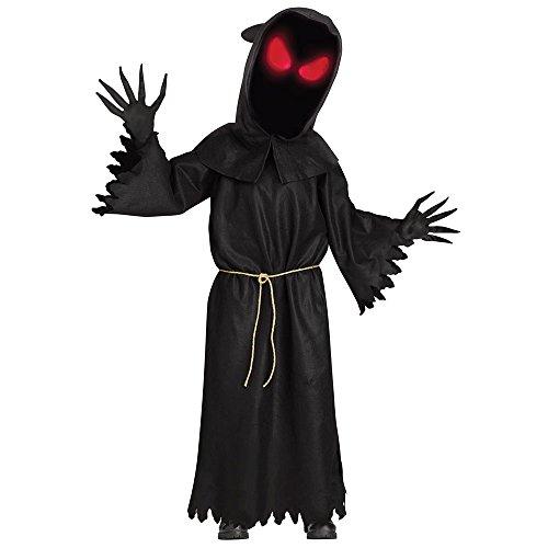 Costumes That Light Up (Fade Eye Big Head Phantom Kids Costume)