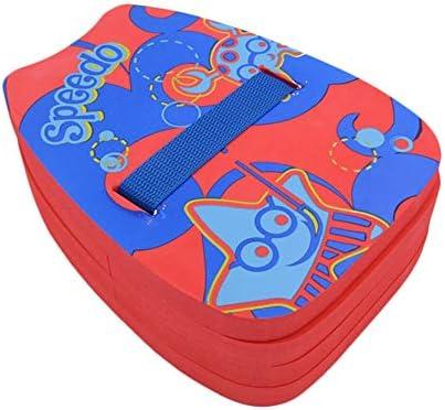 軽量水泳フローティングプレート、EVAの子大人のキックプレート水泳学習戻るブイを泳いで、スクエア浮力Boadフロート (Color : Red)