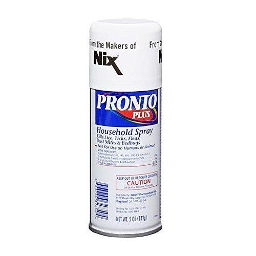 Pronto Plus Lice, Tick and Flea Killing Spray 5 Oz