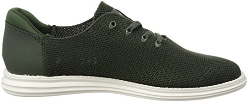 Homme Pepe Knitted Vert Sneakers West Green Khaki Jeans Basses SHqnrHXw