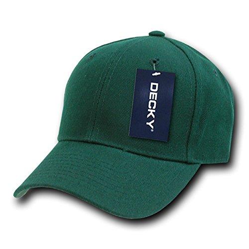 Decky Fitted - Gorra para Hombre verde