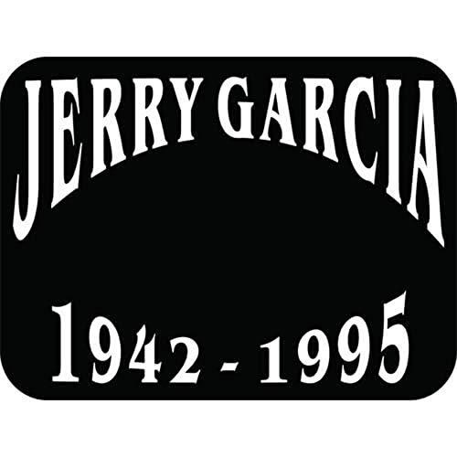 - Jerry Garcia Die-Cut Decal Sticker - Grateful Dead