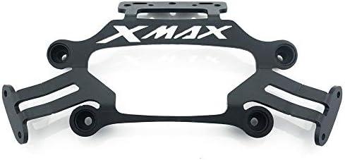 LTGJJ Motorcycle Front Stand HolderSmartphone Mobile Phone Bracket GPS Plate Mirror Bracketfor Yamaha Xmax X MAX 250 300 XMAX300