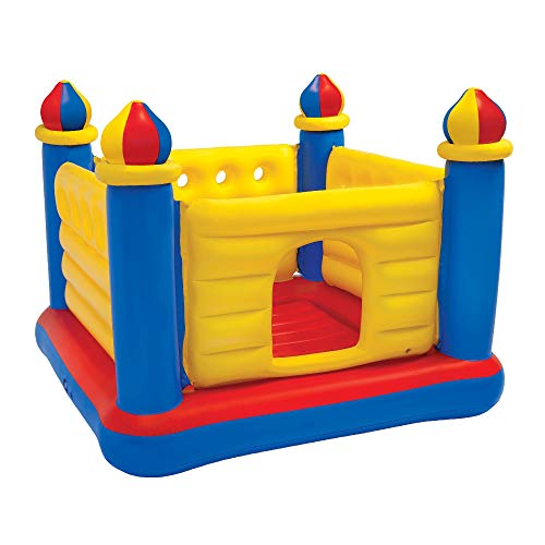 Castle Ball Pit - Intex Jump O Lene Castle Inflatable Bouncer, for Ages 3-6