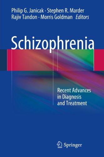 Download Schizophrenia: Recent Advances in Diagnosis and Treatment Pdf